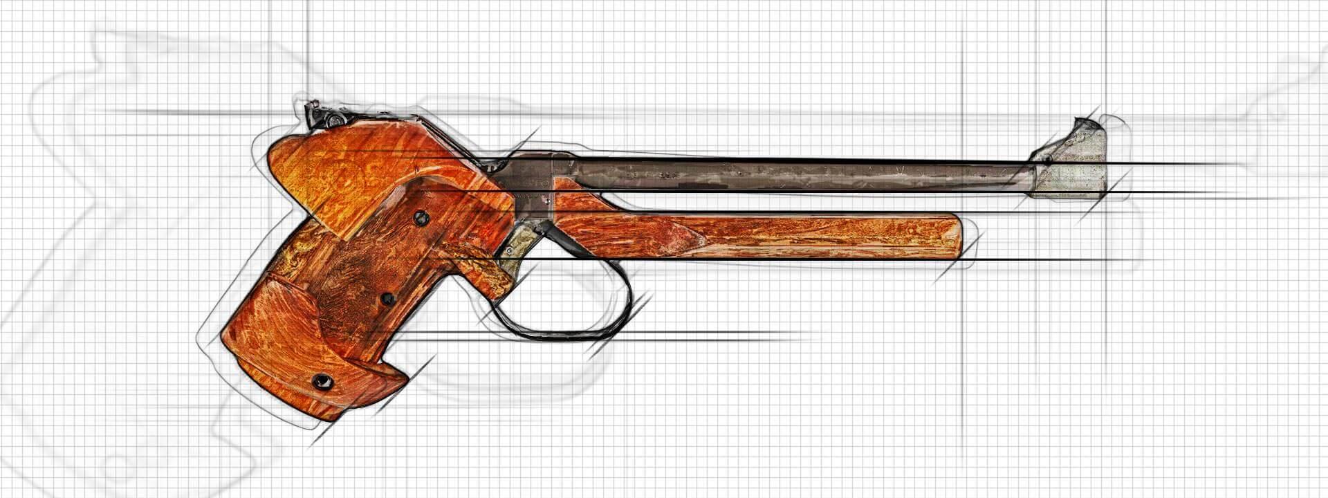 Pistolet Hammerli