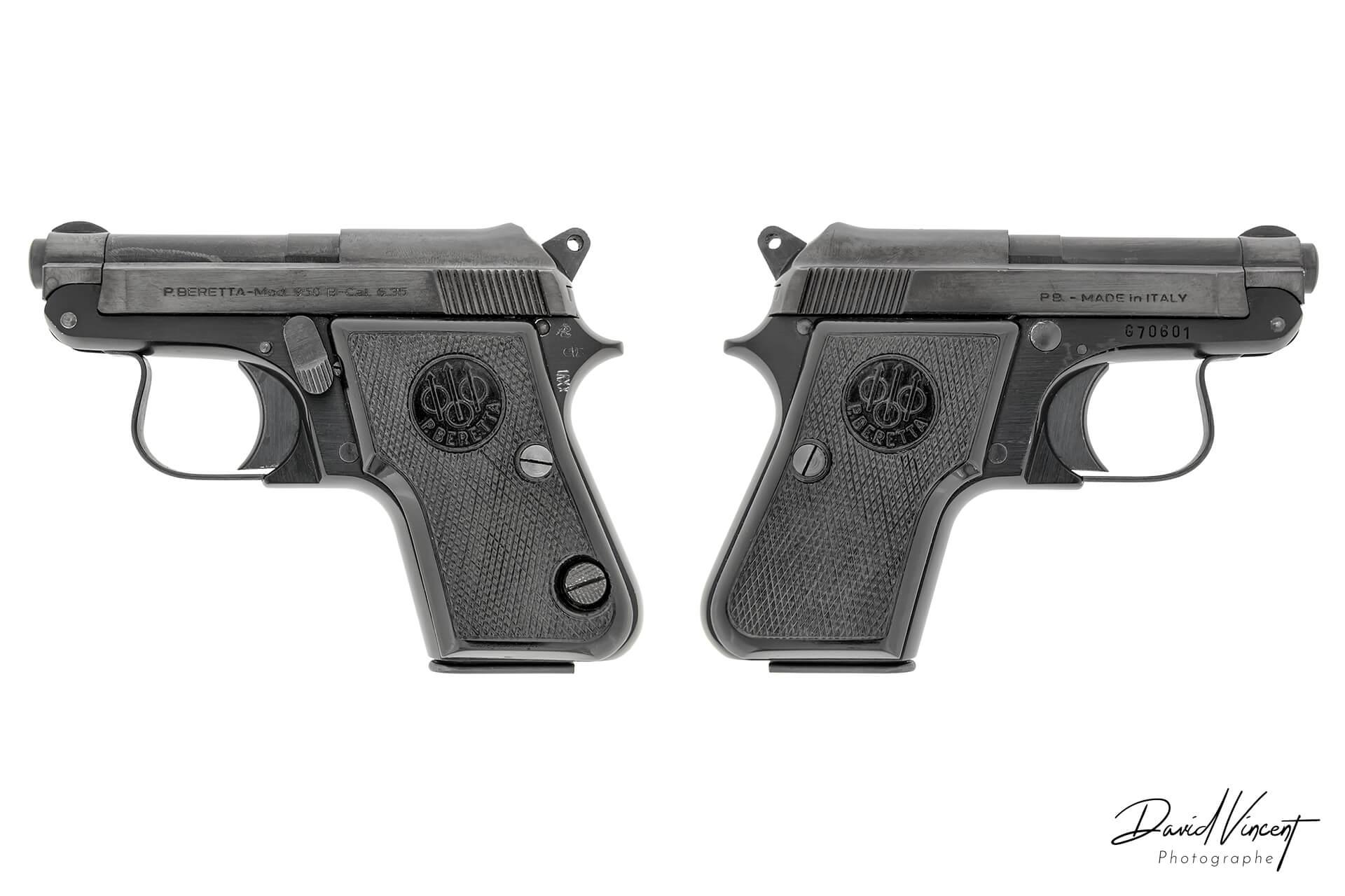 Beretta 950 - Photographe d'armes à feu