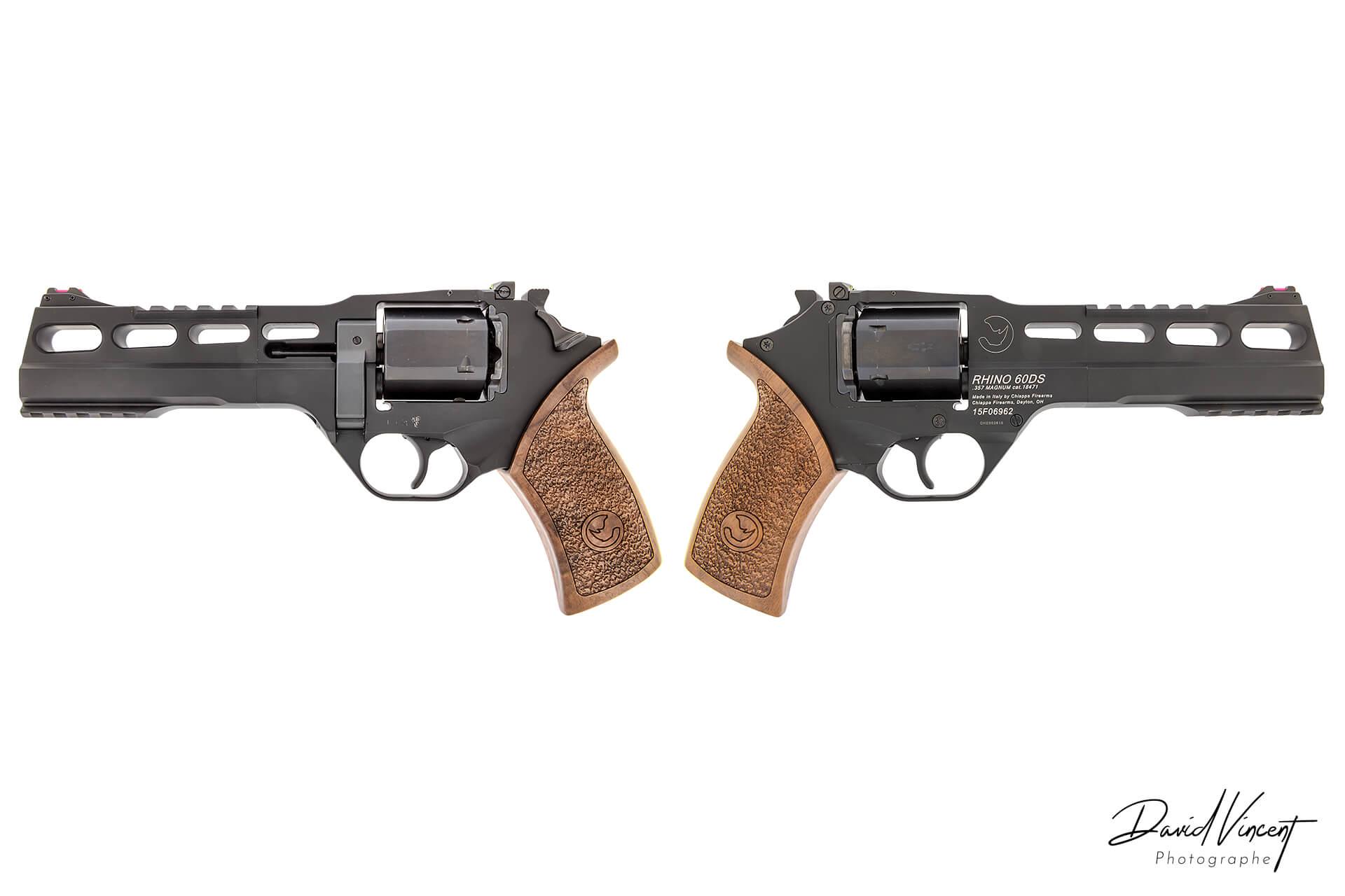 Chiappa Rhino 60DS - Photographe d'armes à feu