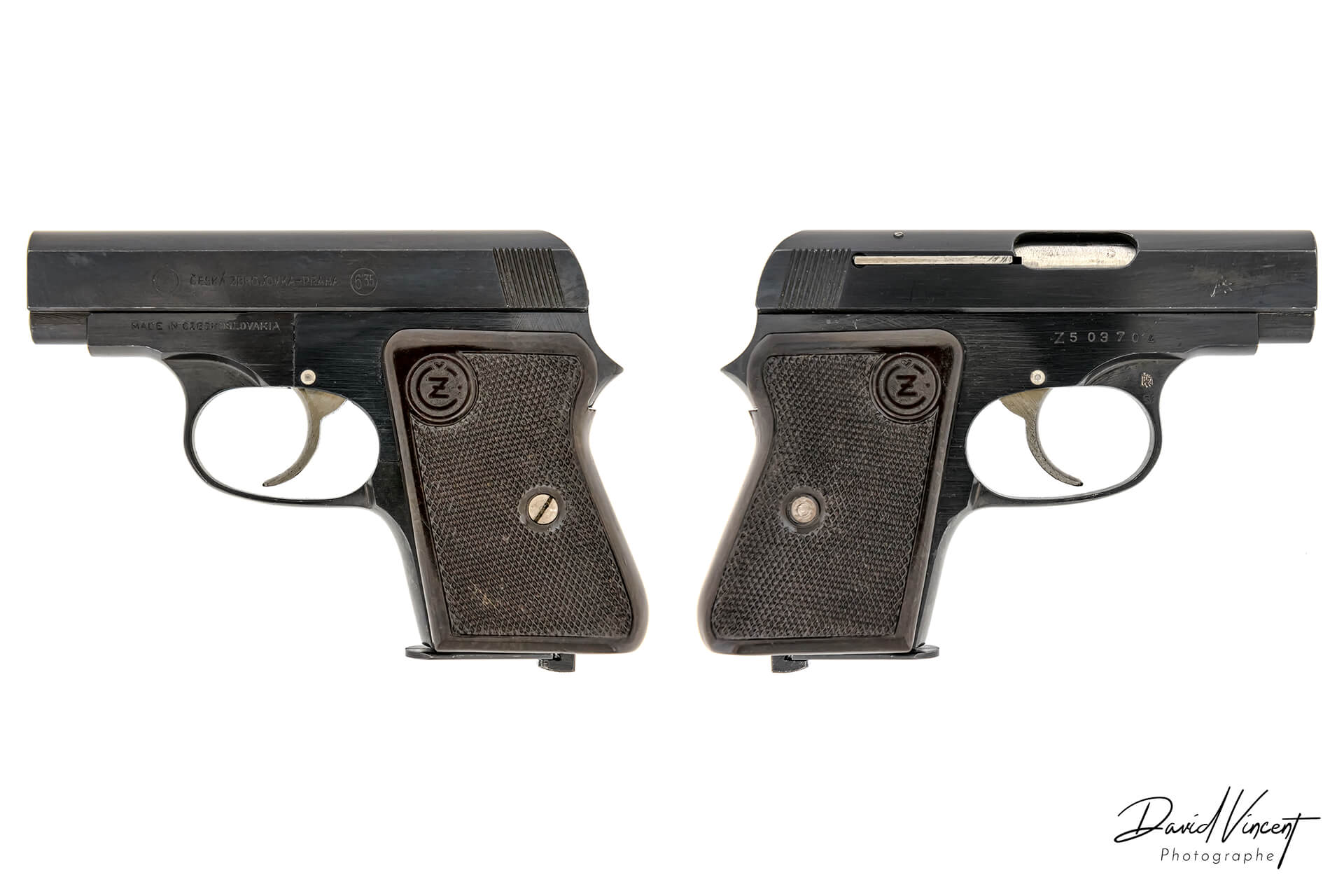CZ 45 - Photographe d'armes à feu