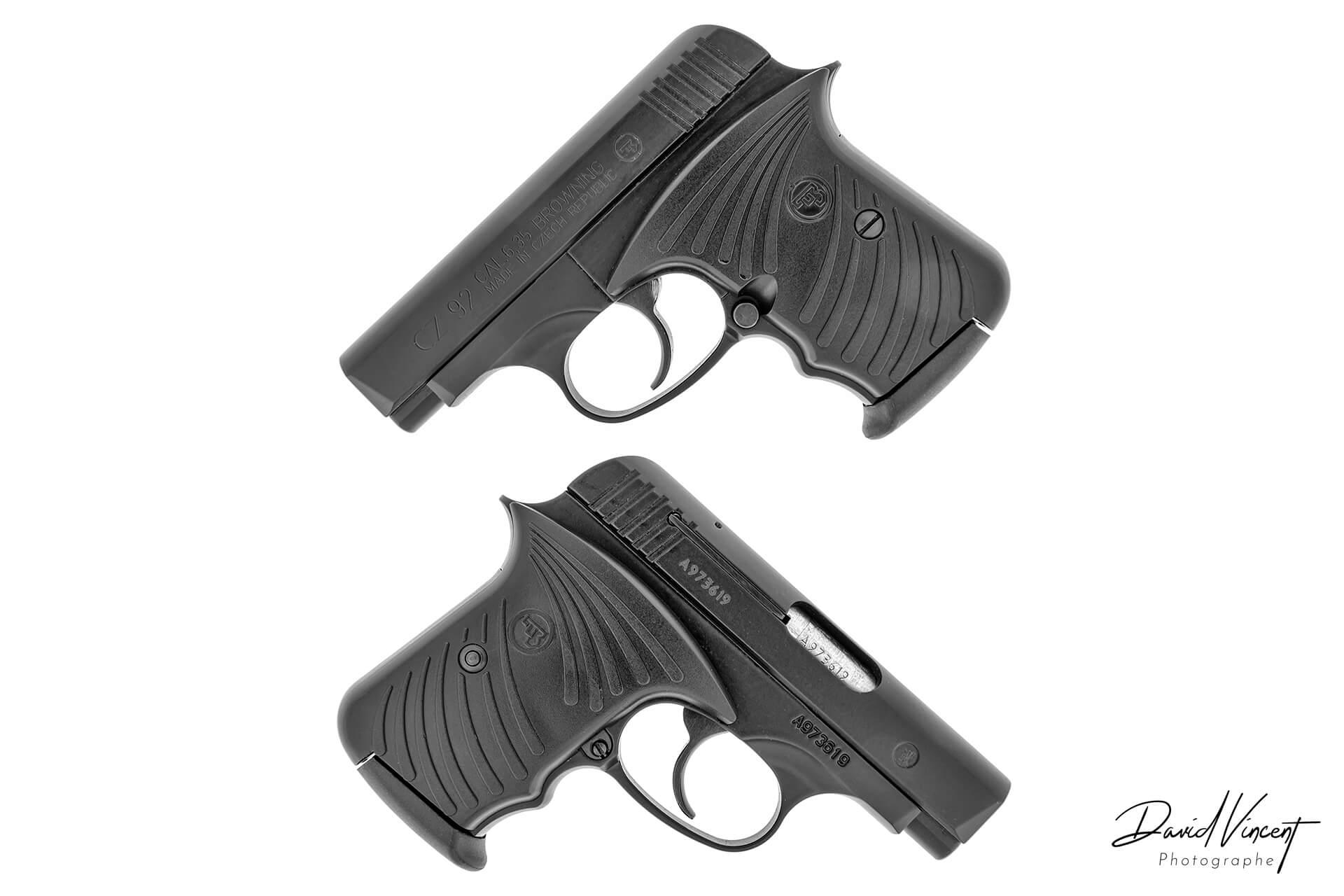 CZ 92 - Photographe d'armes à feu