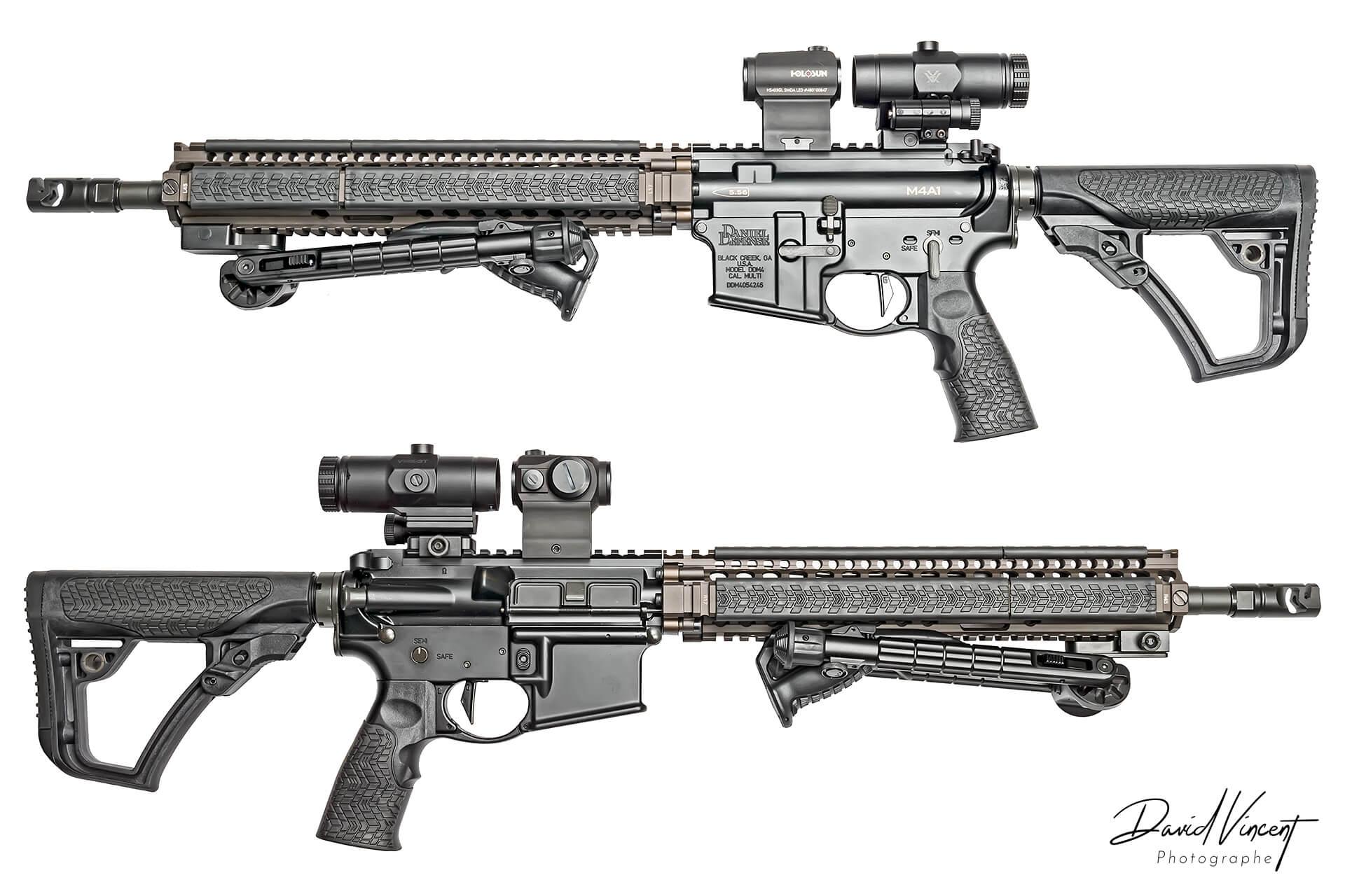 Daniel Defence M4A1 - Photographe d'armes à feu