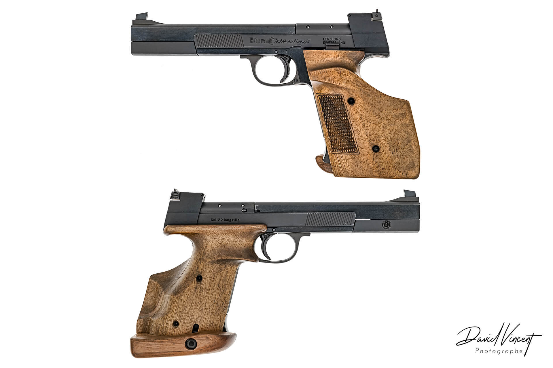Hammerli 208 - Photographe d'armes à feu