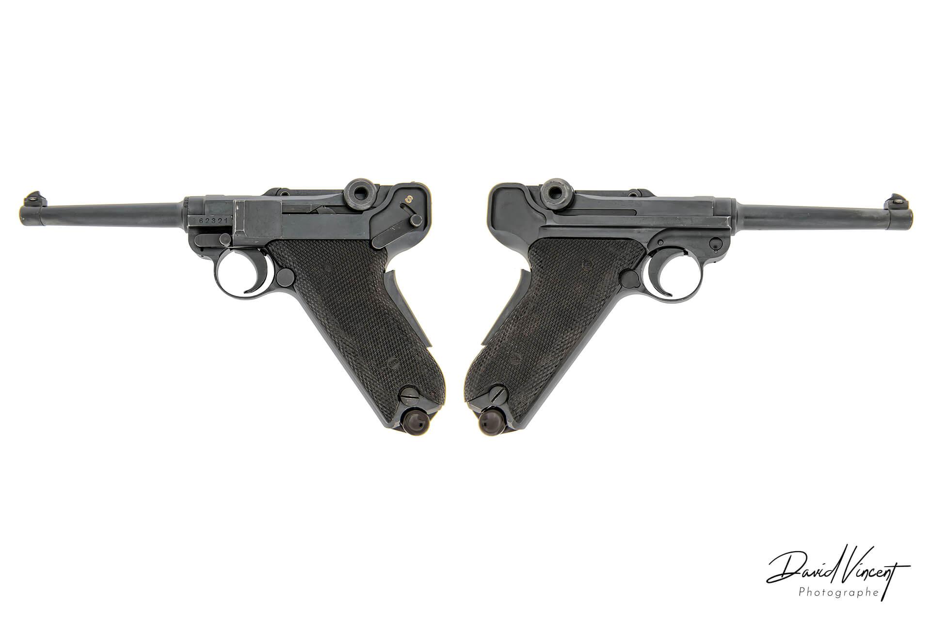 Luger P08 - Photographe d'armes à feu