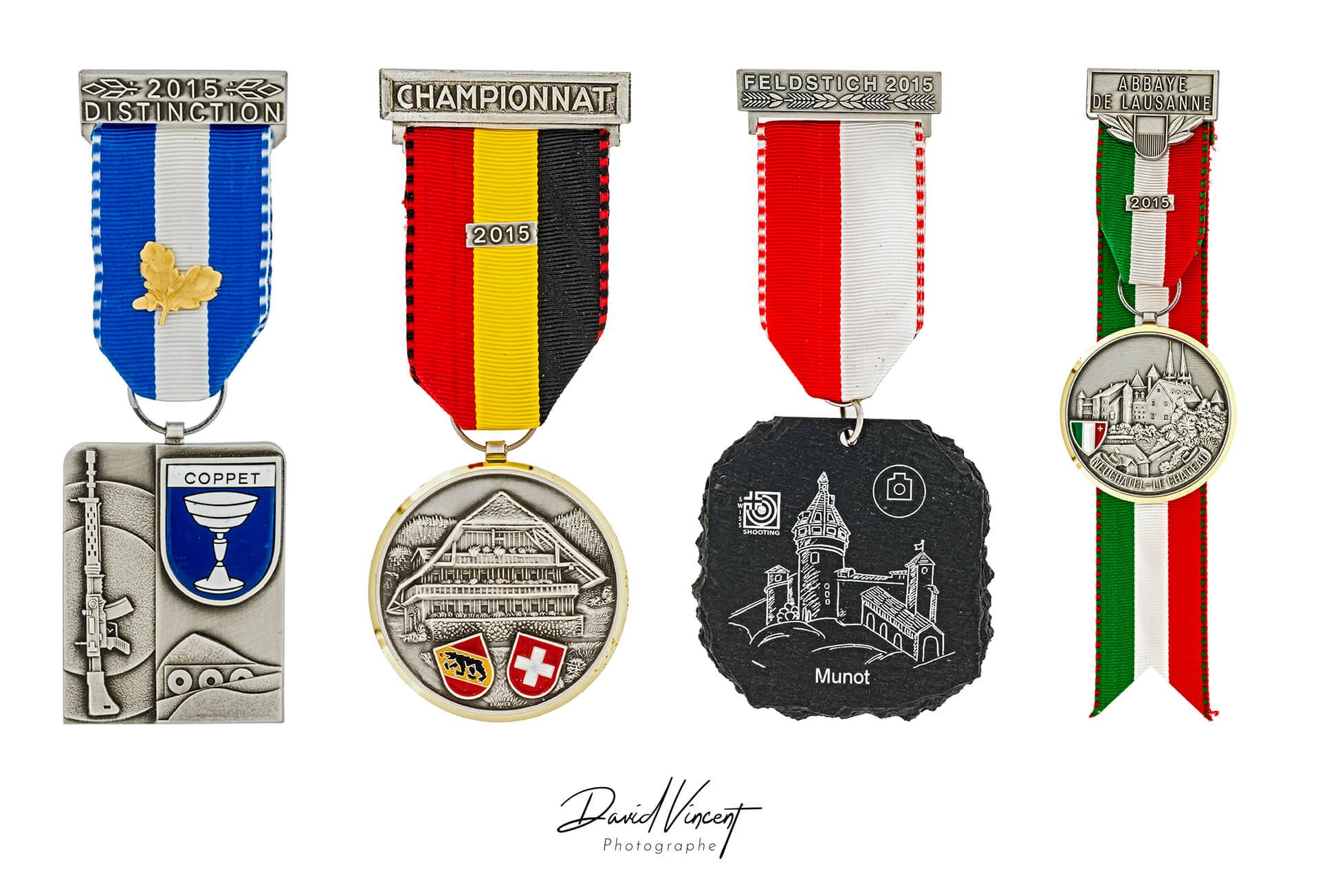 Medailles - Photographe d'armes à feu