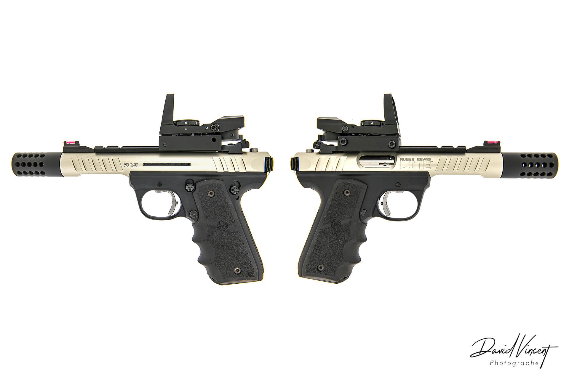 Ruger 22/45 Lite - Photographe d'armes à feu