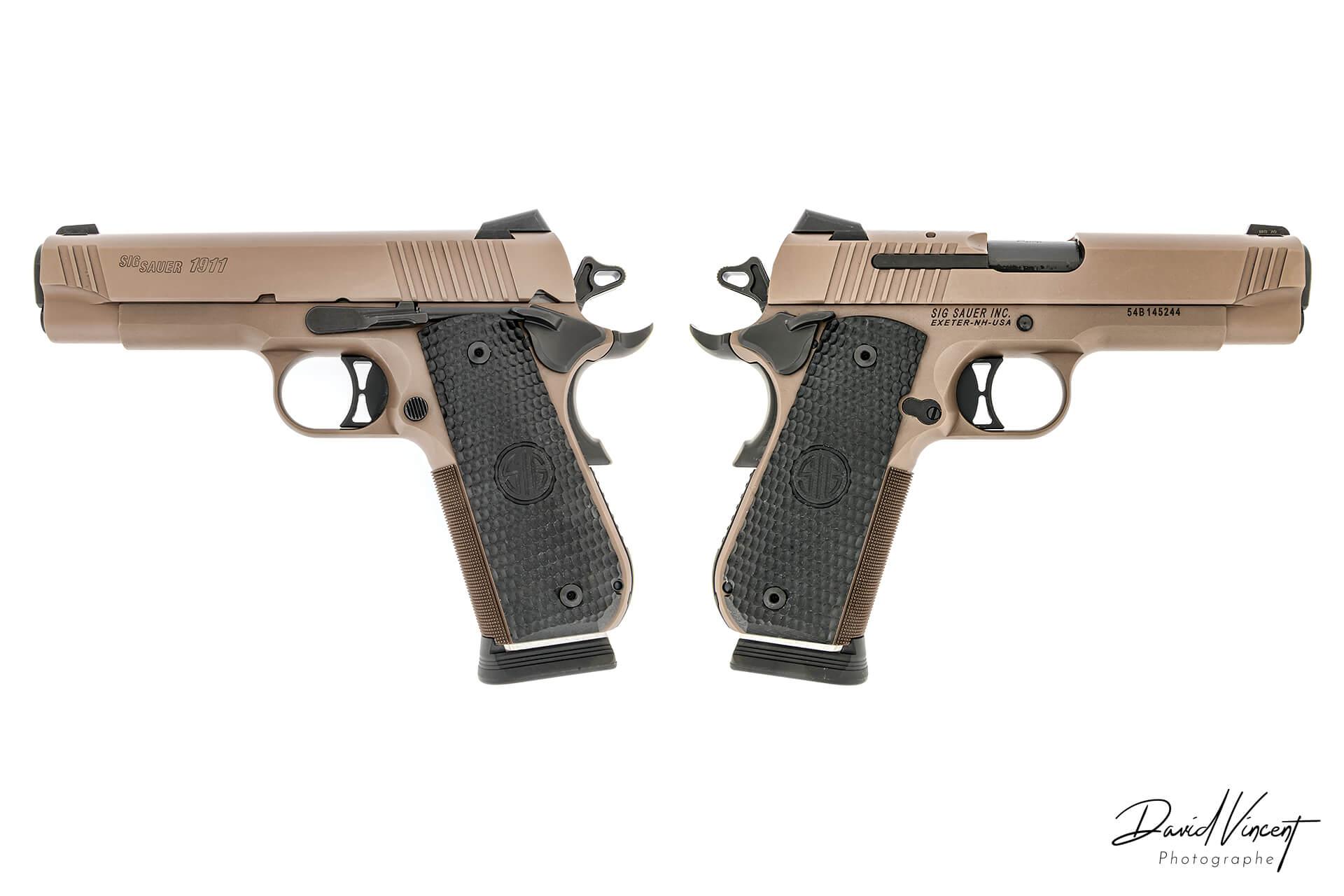 SIG 1911 - Photographe d'armes à feu