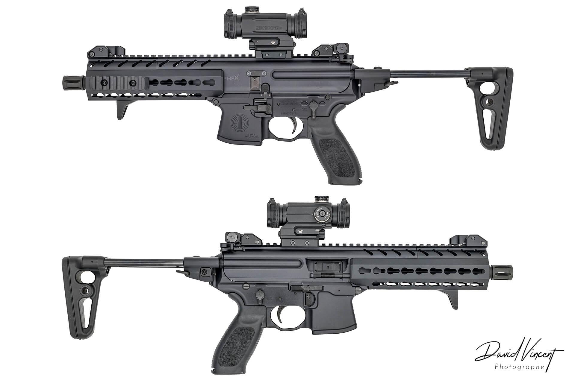 SIG MPX - Photographe d'armes à feu