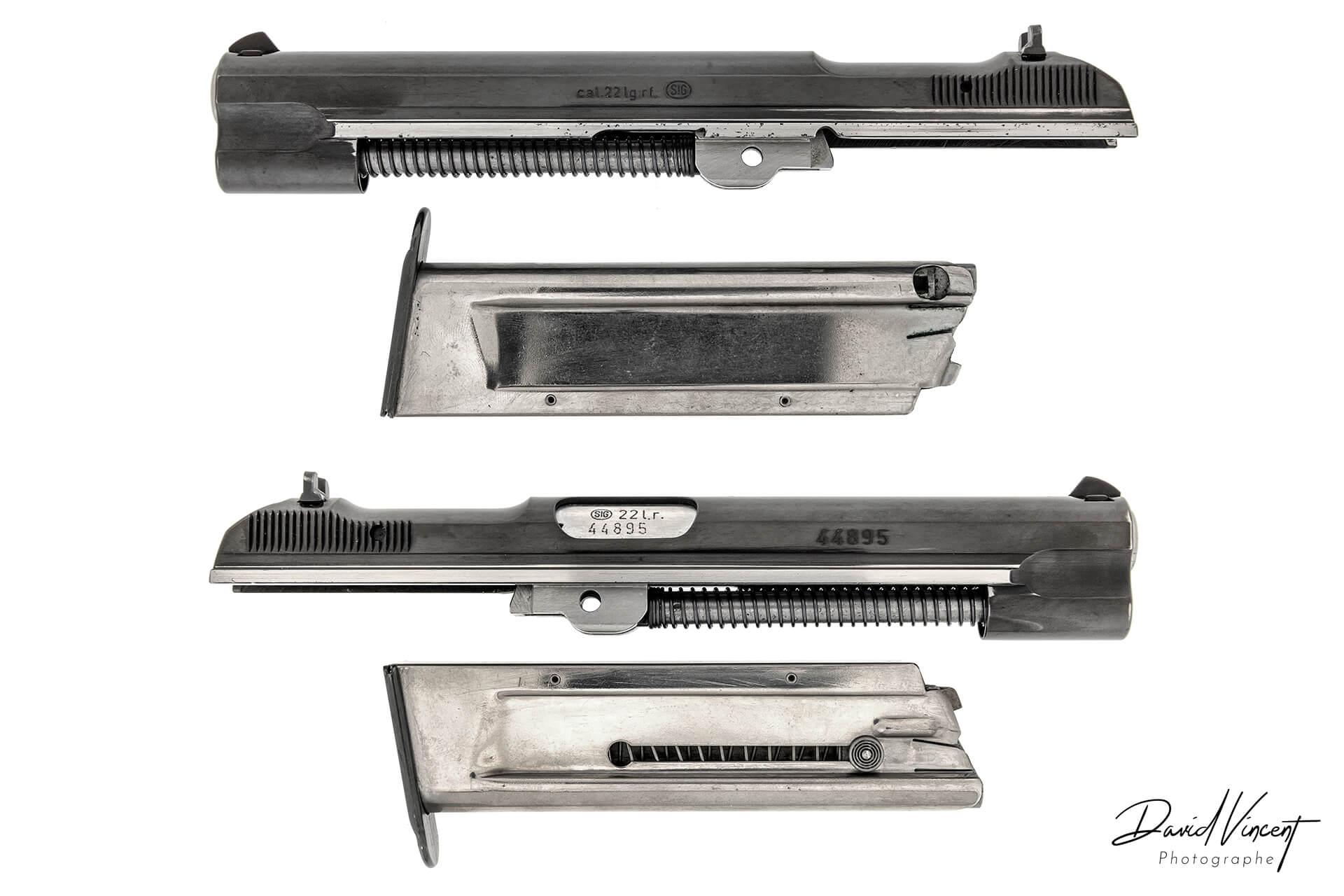 SIG P210 22LR Converter - Photographe d'armes à feu