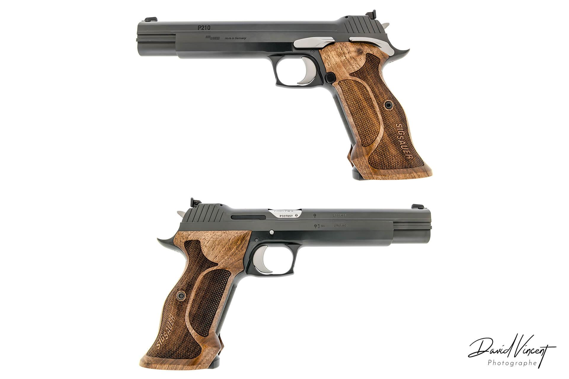 SIG P210 SuperTarget - Photographe d'armes à feu