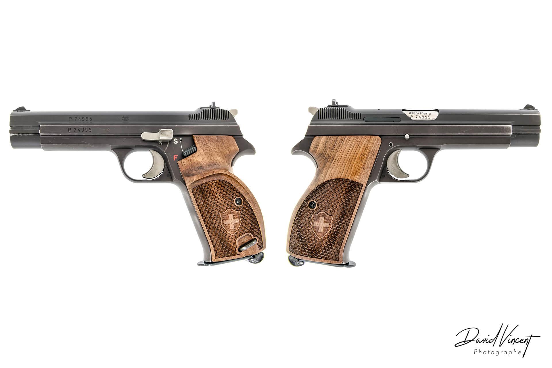 SIG P210 - Photographe d'armes à feu