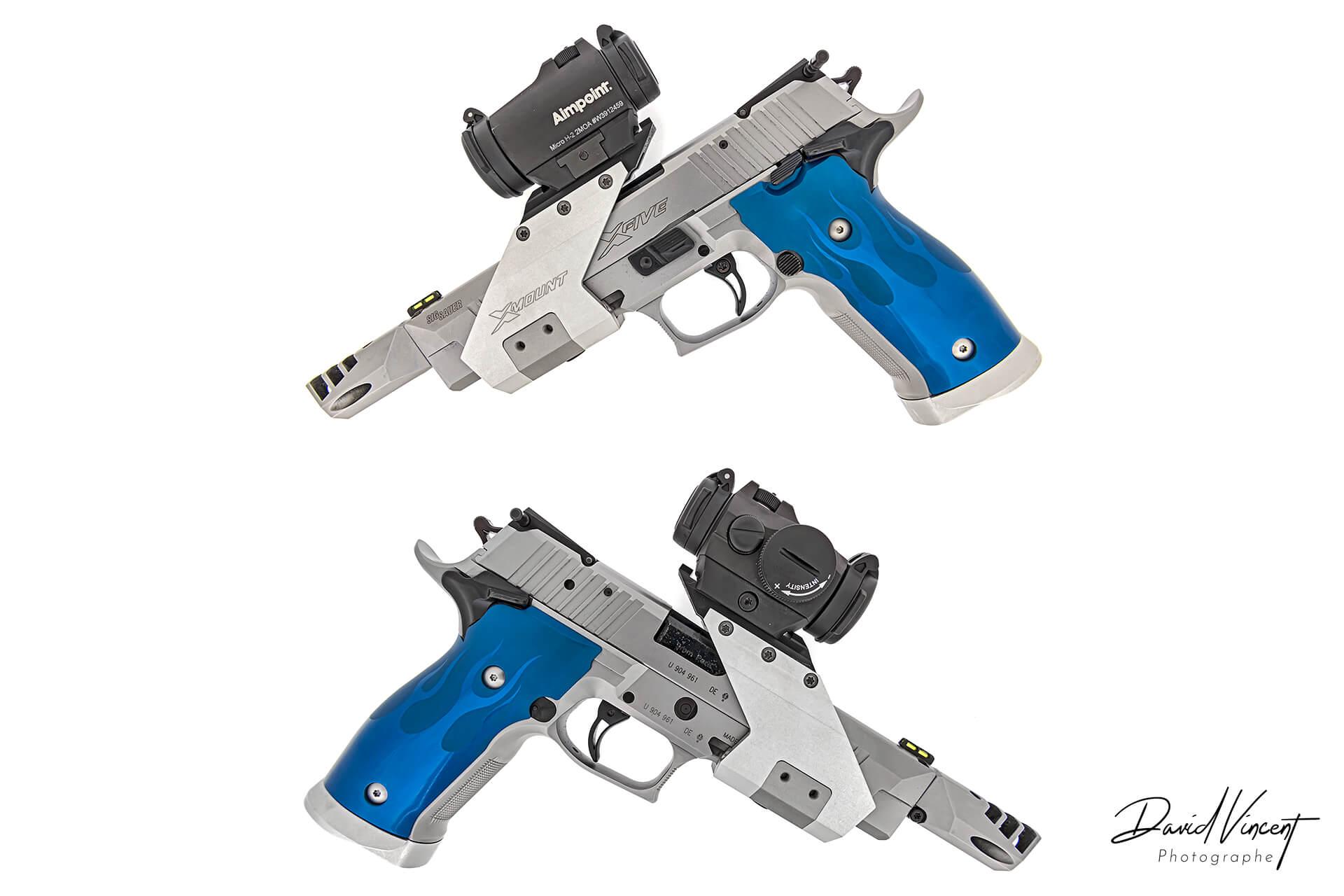 SIG P226-X5 - Photographe d'armes à feu