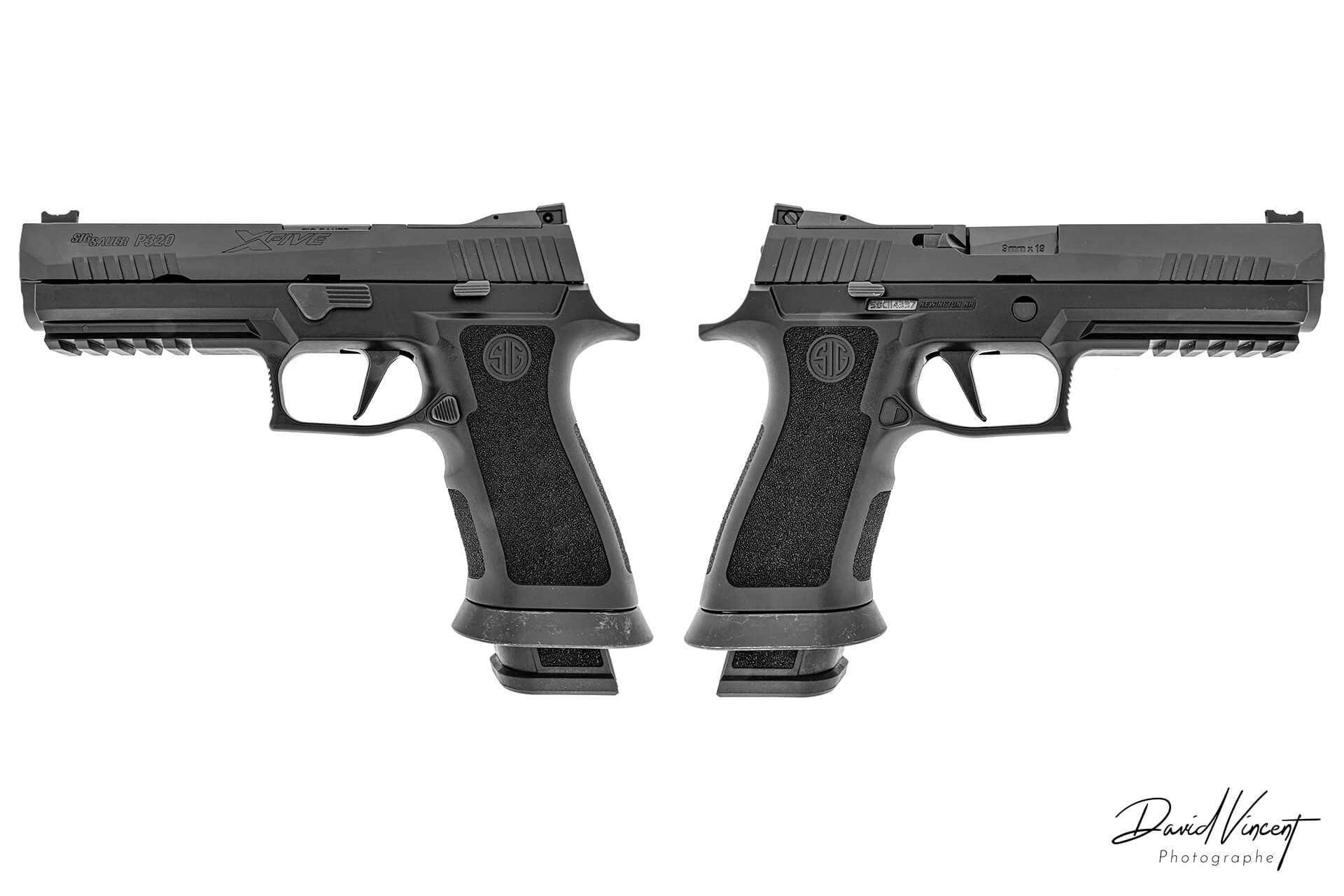 SIG P320-X5 - Photographe d'armes à feu