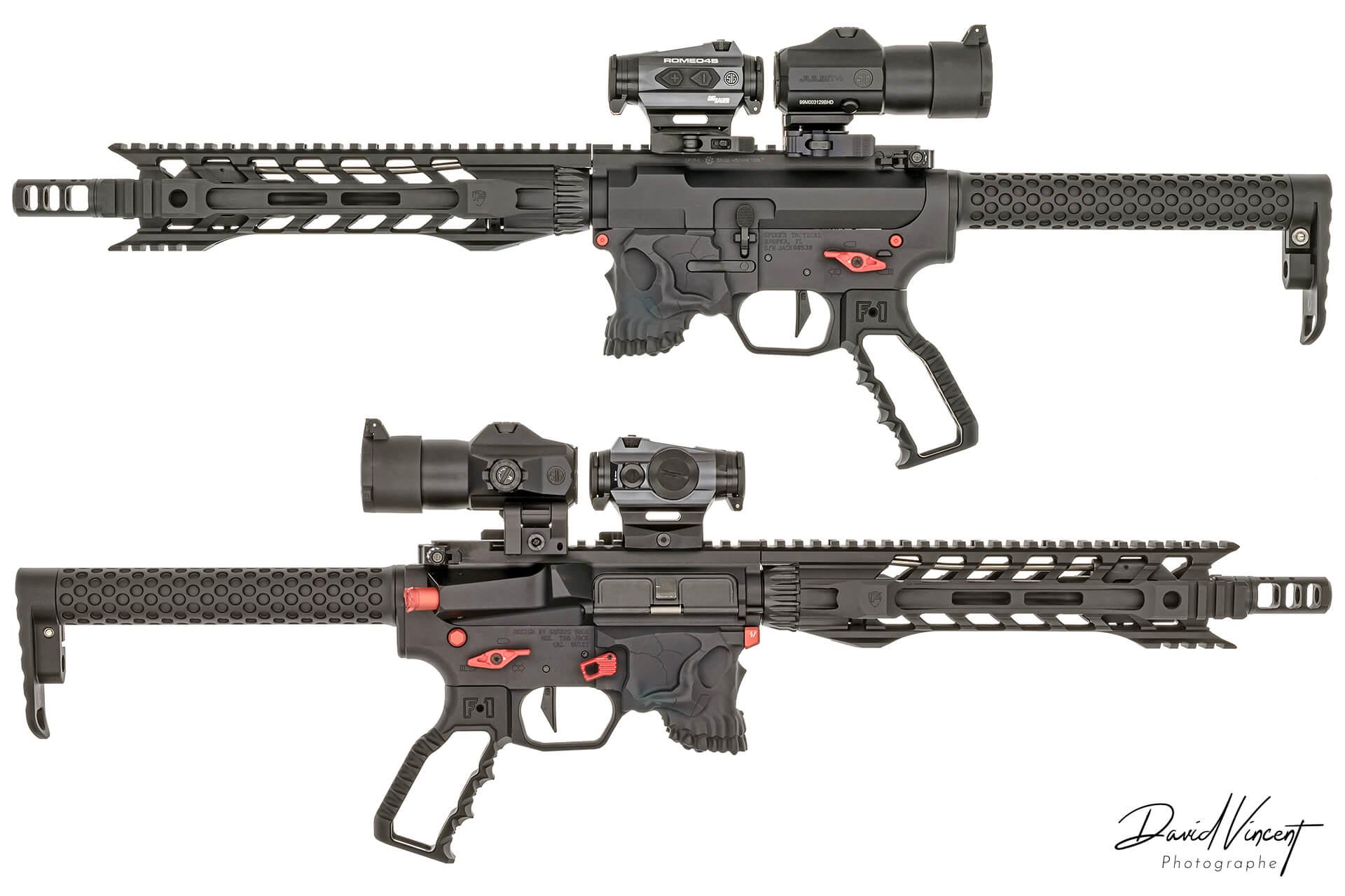 Spike AR15 custom - Photographe d'armes à feu