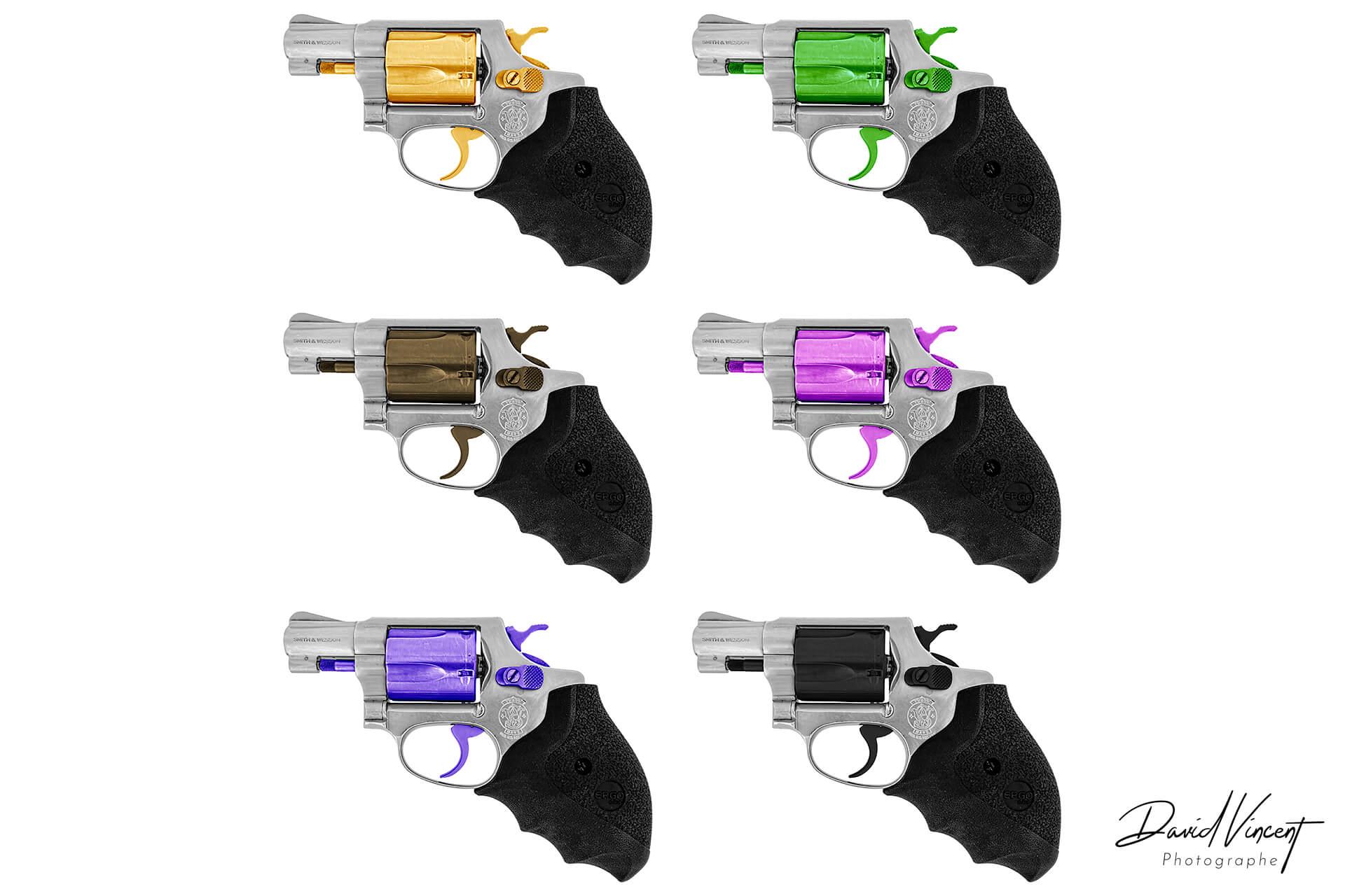 S&W 60 colors - Photographe d'armes à feu