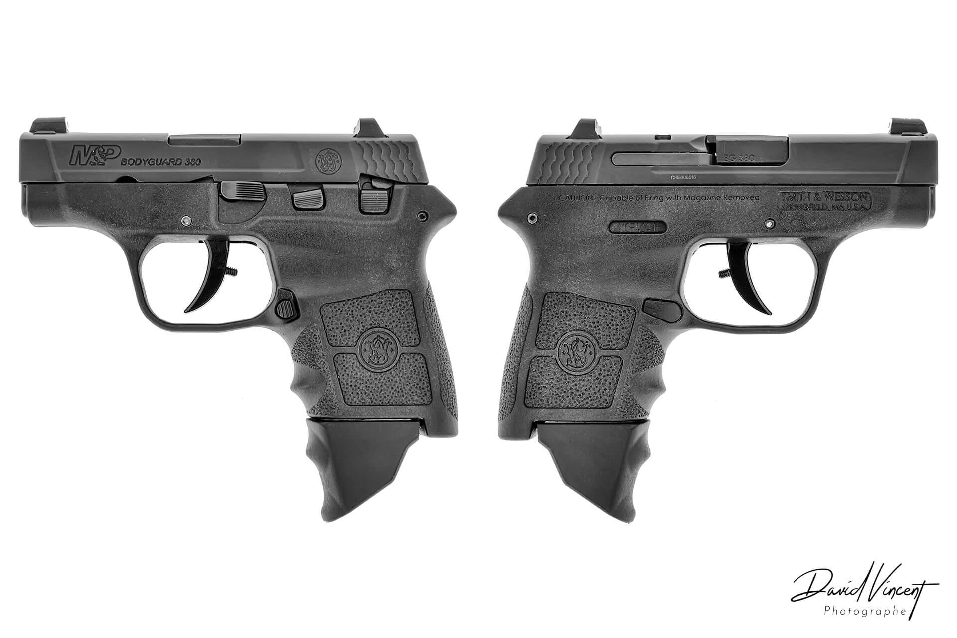 S&W M&P Bodyguard 380 - Photographe d'armes à feu