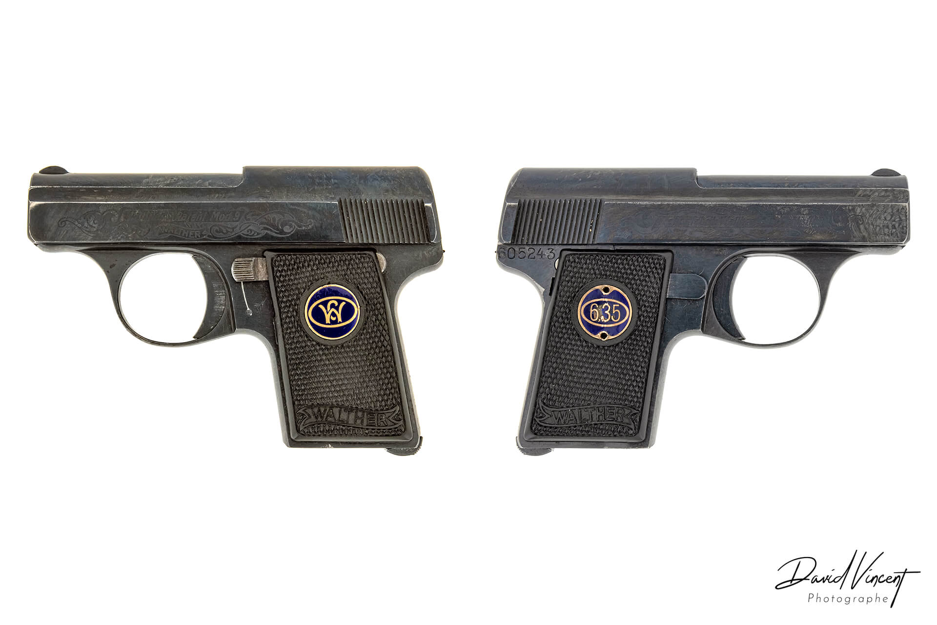 Walther model 9 Firearms Photographer