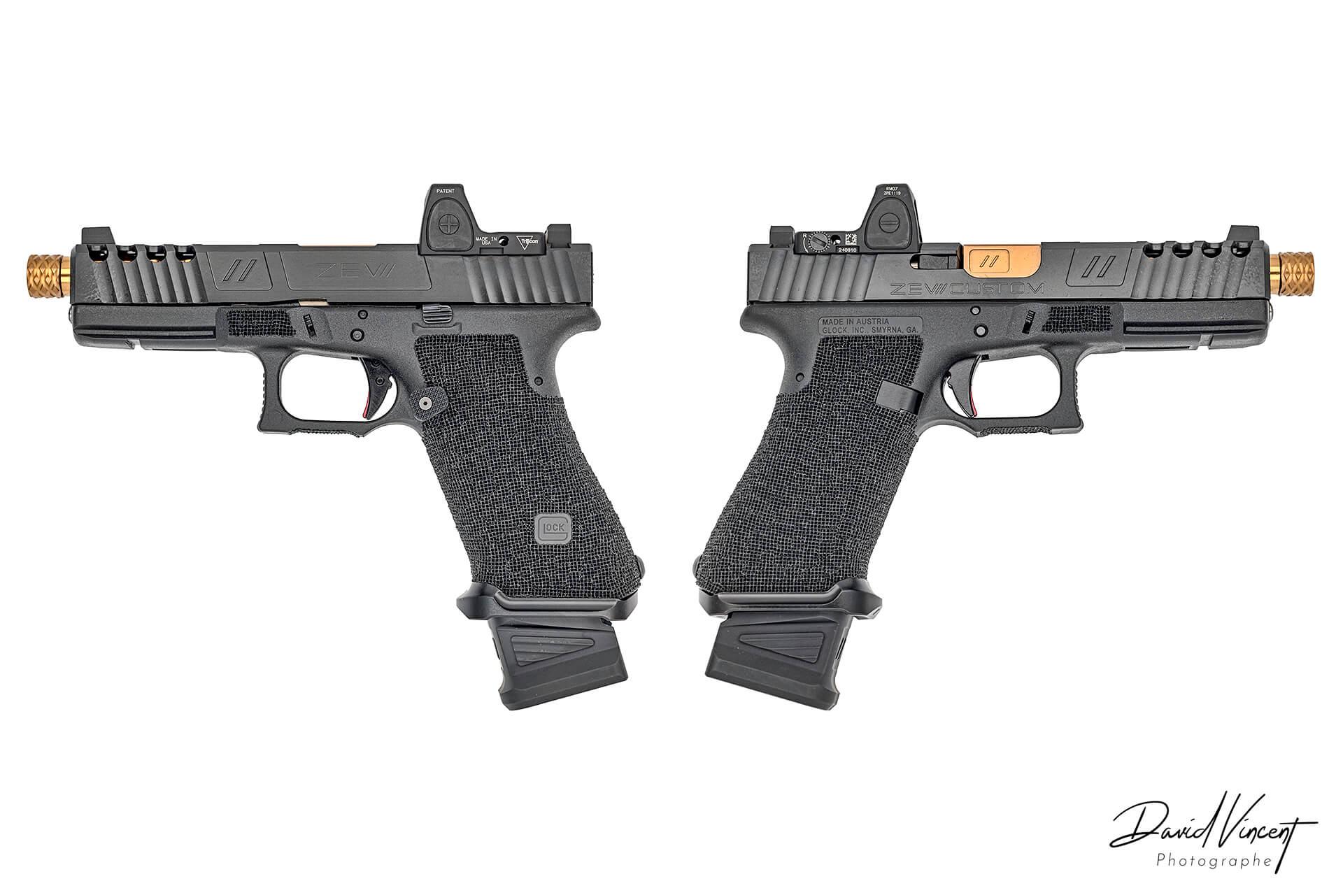 ZEV Glock 17 Firearms Photographer