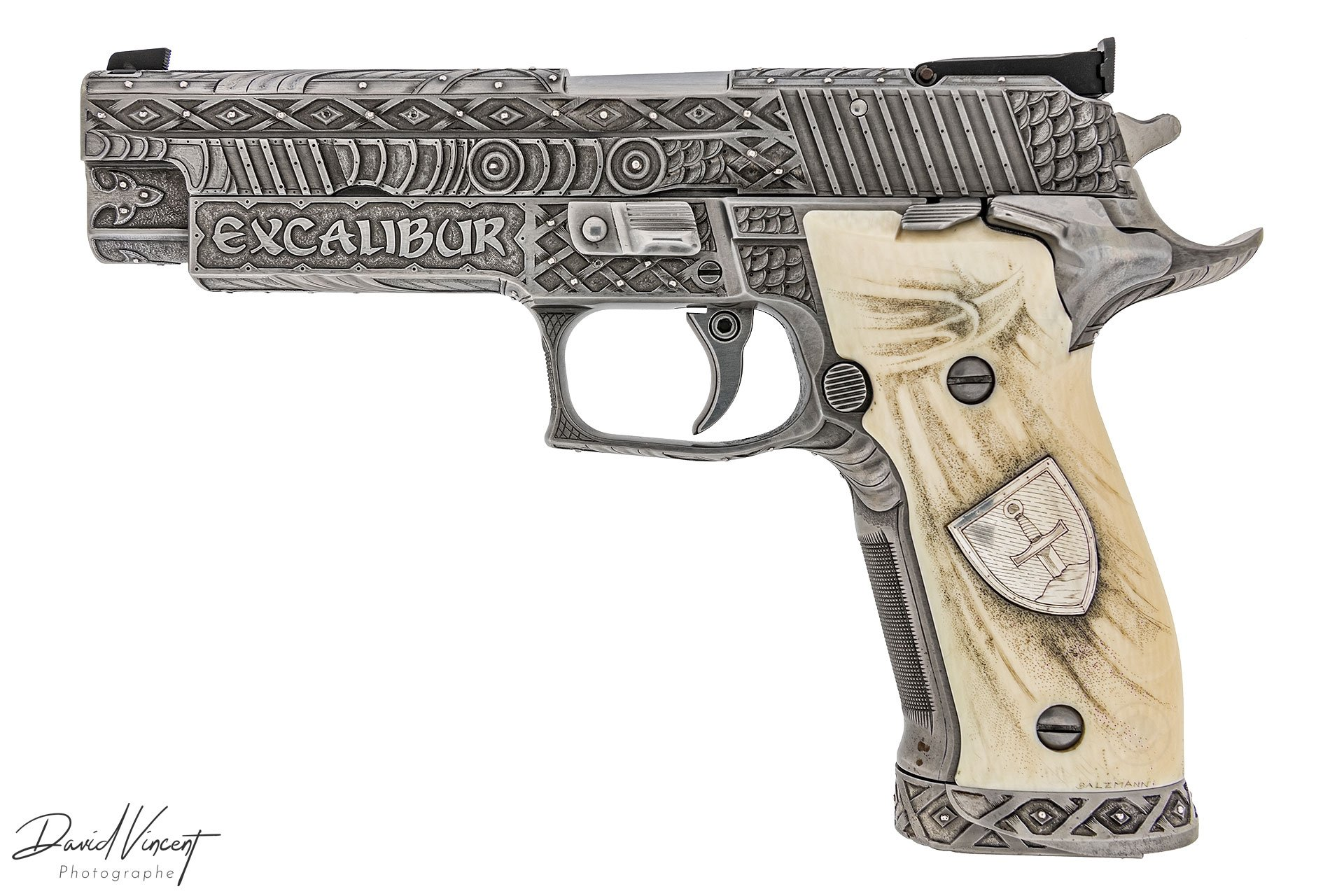 SIG P226 X-Five Excalibur Engraved